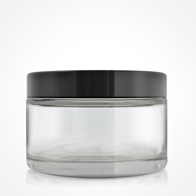 200gm_clear_glass_jar_black_lid