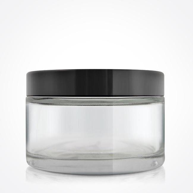 200gm_clear_glass_jar_black_lid